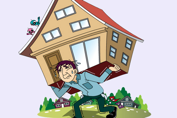 отбирают ли единственную квартиру за долги по кредитам услышал, как