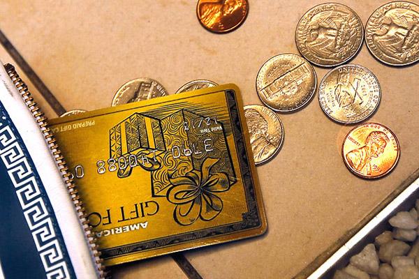 Какими бывают подарочные карты банков?