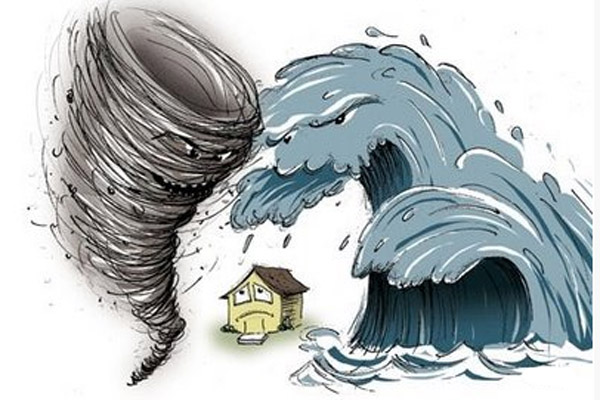 Является ли страховым случаем стихийное бедствие населенные