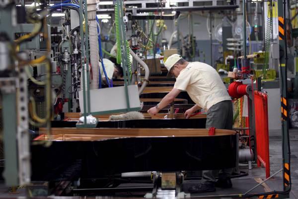 В Италии падает производство