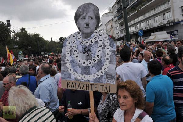 За что в Европе не любят Ангелу Меркель?