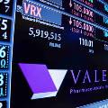 Акции Valeant катастрофически идут вниз